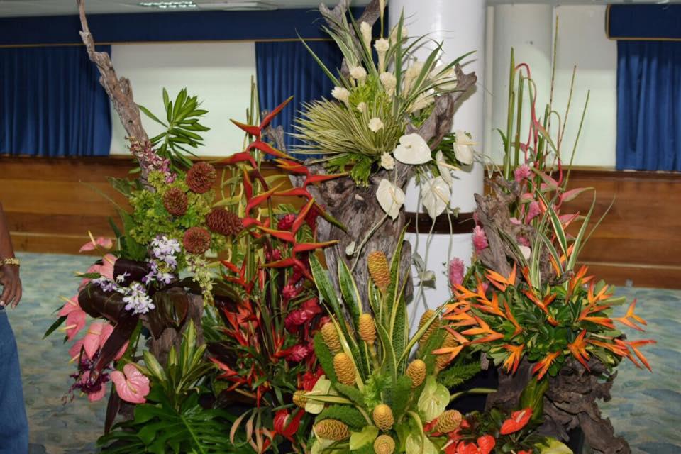 Floral arrangement by Tony Tang Kai